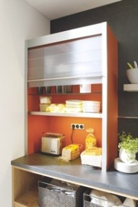 Orange Kitchen Worktop