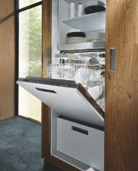 NX 502 in sand grey kitchen unit