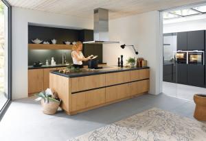 Family modern kitchen